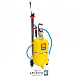 Aspirador neumático para aceite usado de 24 litros