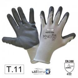 Guante con la palma reforzada de nitrilo