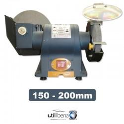 Amoladora eléctrica 150-200 mm