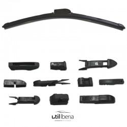 Escobilla de limpiaparabrisas con sistema multi-adaptadores de 280 mm