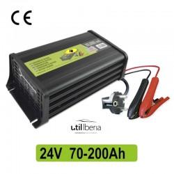 Cargador de batería 24 V 70-200 Ah