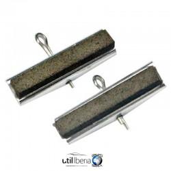 Piedras de repuesto para bruñidor de cilindros de 2 brazos