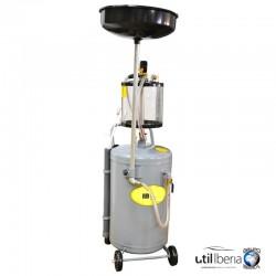 Recogedor de aceite 80 litros con sistema de aspiración