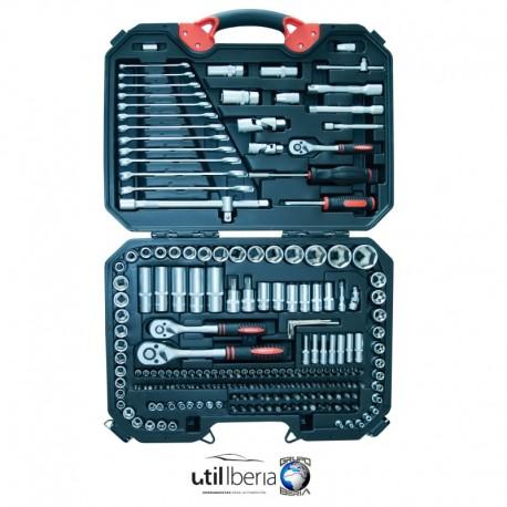 Estuche de herramientas de 218 piezas