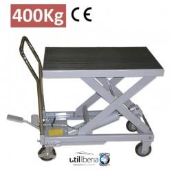 Mesa hidráulica de 400 kg