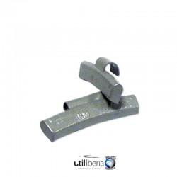Contrapesa zinc grapa llanta aluminio