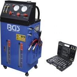 Equipo para cambio de aceite y lavado de transmisión automática con juego de adaptadores