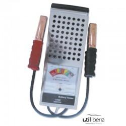 Comprobador de batería analógico