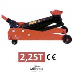 Gato hidráulico carretilla de 2,25 toneladas