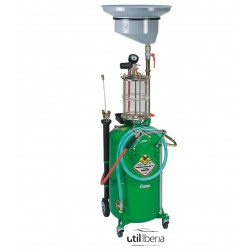 Recuperador-Aspirador neumático de aceite usado de 90 litros con precámara
