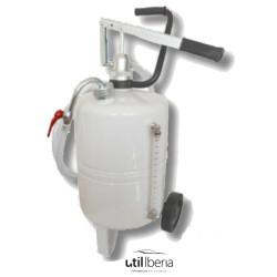 Suministrador móvil de aceite de 24 litros