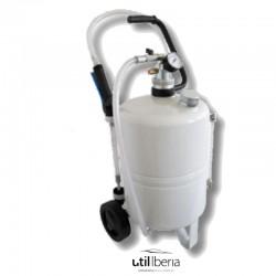 Suministrador neumático de aceite de 24 litros