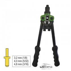 Remachadora doble brazo 300 mm