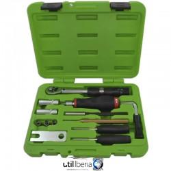 Kit de herramientas para montaje y desmontaje de válvulas TPMS