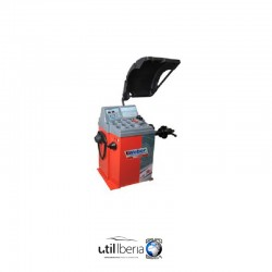 Equilibradora de ruedas para coche Weber Semiautomática