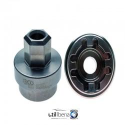 Util extracción-montaje rueda dentada de árbol de levas motocicletas Ducati 28 mm