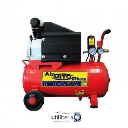 Compresor pistón 2,5 cv 24 litros