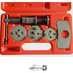 Retractor de pistones de frenos con rosca izquierda 5 Piezas