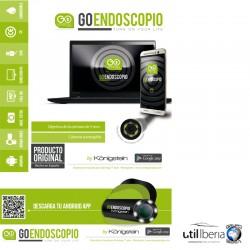 Mini cámara endoscópica GoEndoscopio